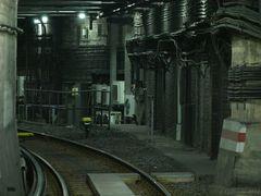 Noch ein Blick in den U-Bahntunnel