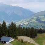 Noch ein Blick von Kapell (Bergstation der Hochjochbahn)…