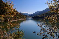 Noch ein Blick zum Sylvensteinsee