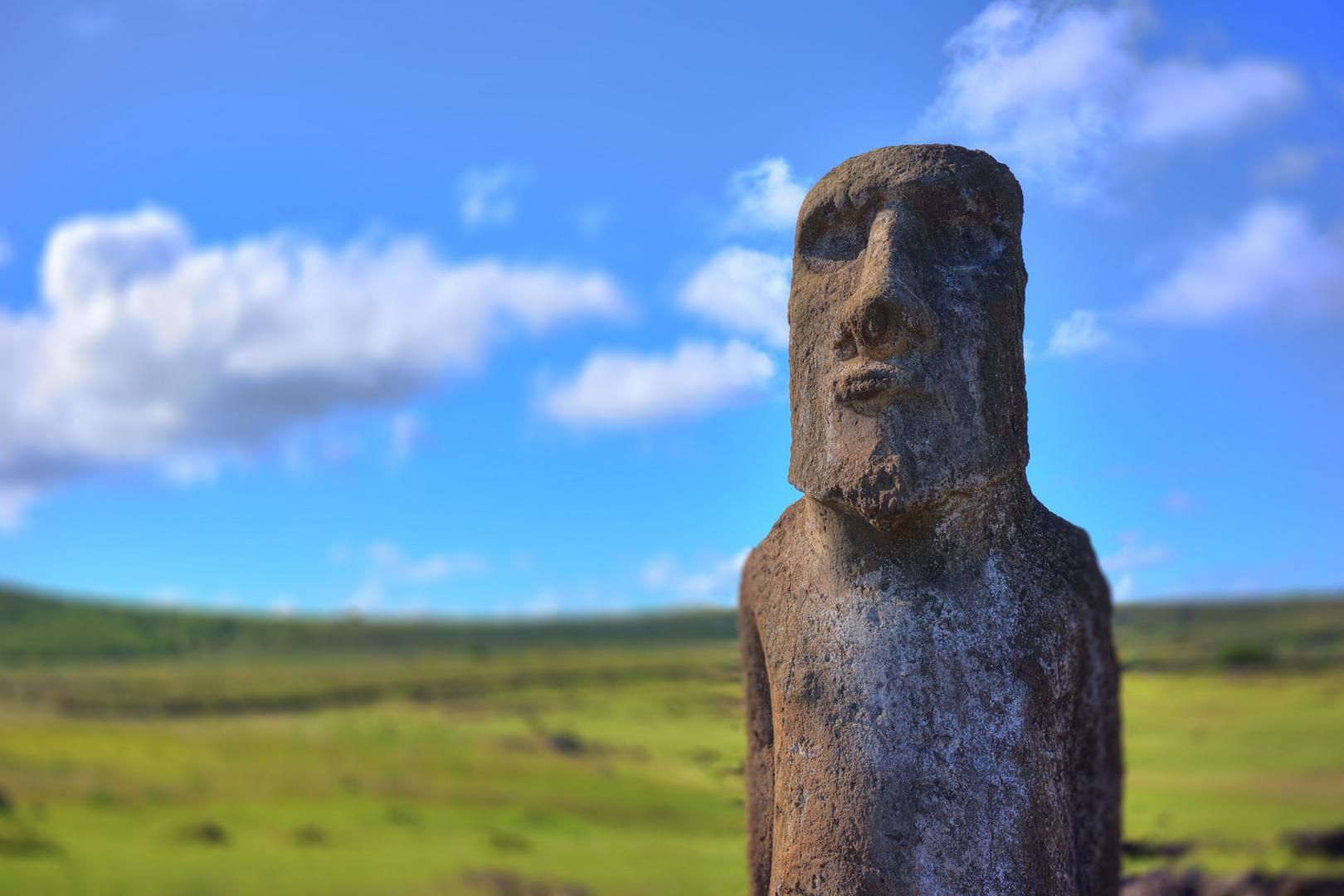 Noch ein Moai