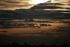 Noch eine Abendstimmung ... kurz vor dem Sonnenuntergang