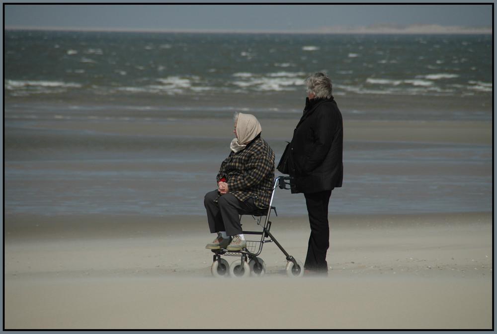 ...noch EINmal das Meer sehen...