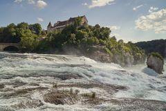 noch einmal den Rheinfall bei Schaffhausen