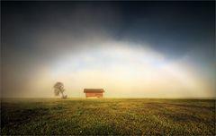 Noch einmal der Nebelbogen