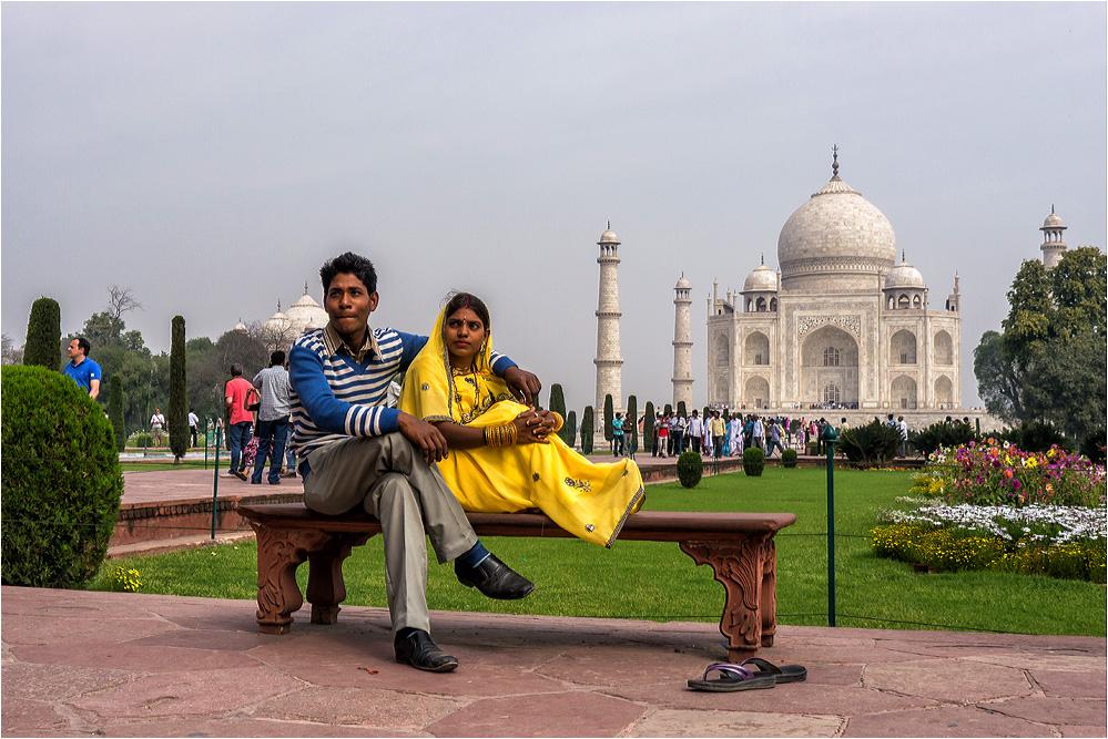 Noch eins vom Taj...