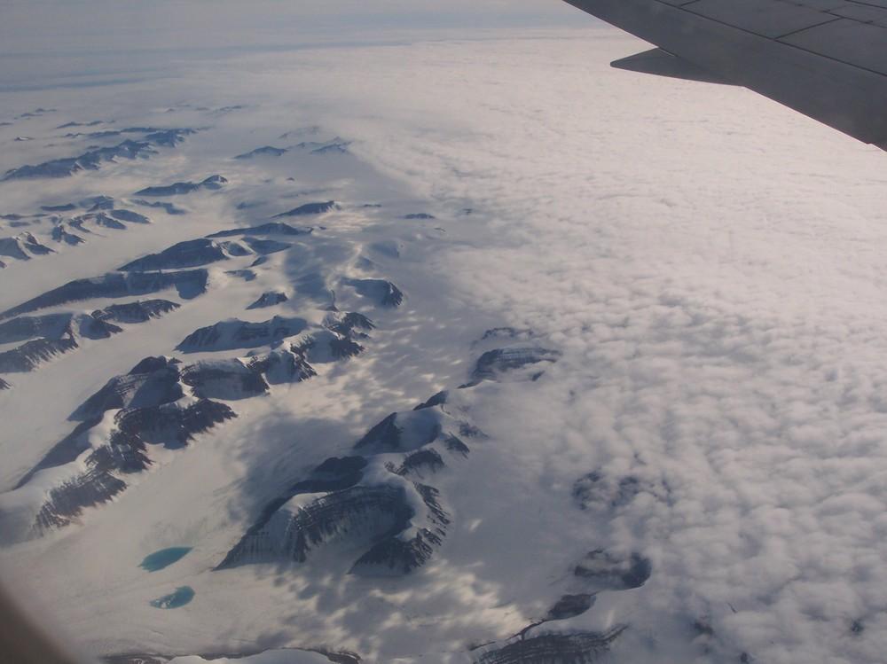 Noch gibt es etwas Eis in Grönland ...