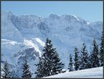 Noch immer Winter in den Bergen...