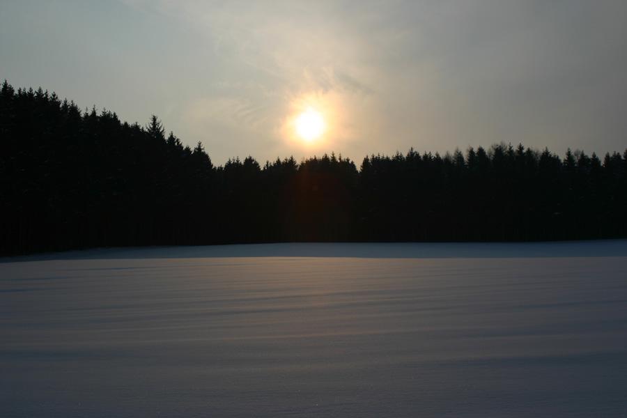 Noch ist der Winter da......