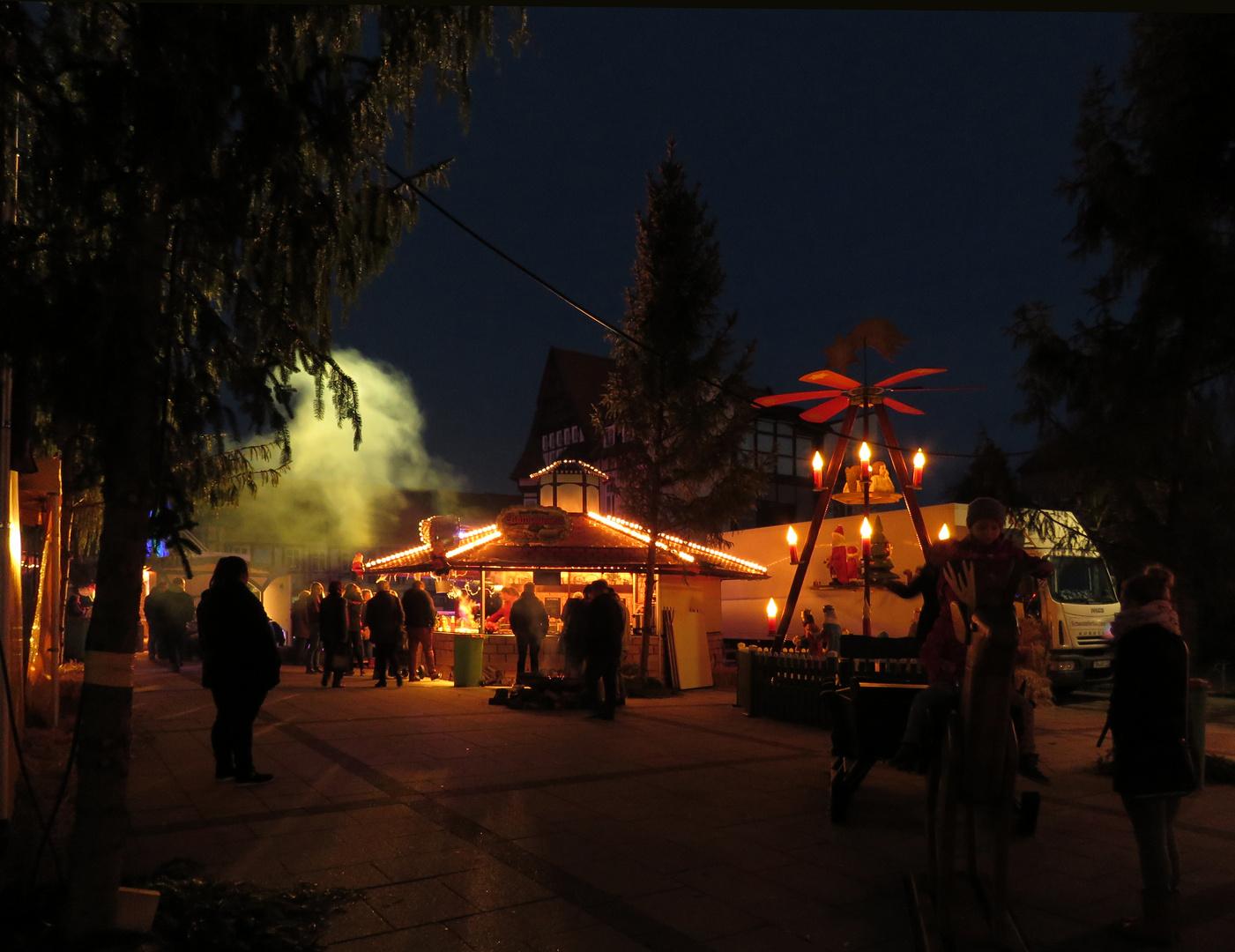 Weihnachtsmarkt Salzwedel.Noch Mal Ein Stimmungsbild Vom Weihnachtsmarkt In Salzwedel Foto