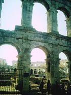 noch mehr Amphittheater in Pula