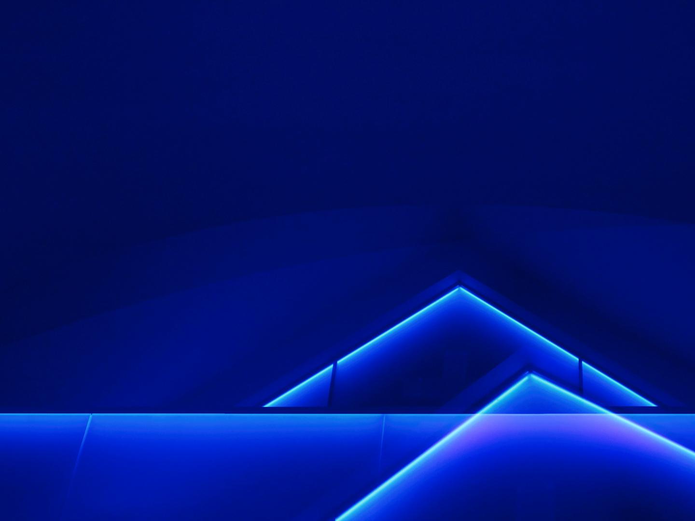 Noch mehr Blau geht nicht