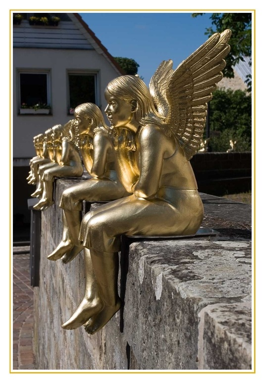 Noch mehr Engel - Ottmar Hörl
