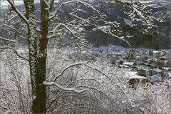 Noch mehr Schnee ...