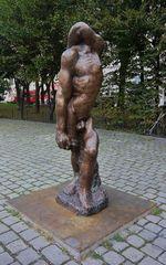 ... noch 'ne Skulptur von Alfred Hrdlicka - und noch mehr !