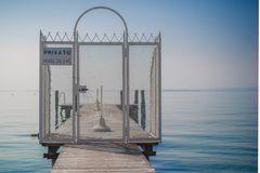 Noch nix los am Garda See.