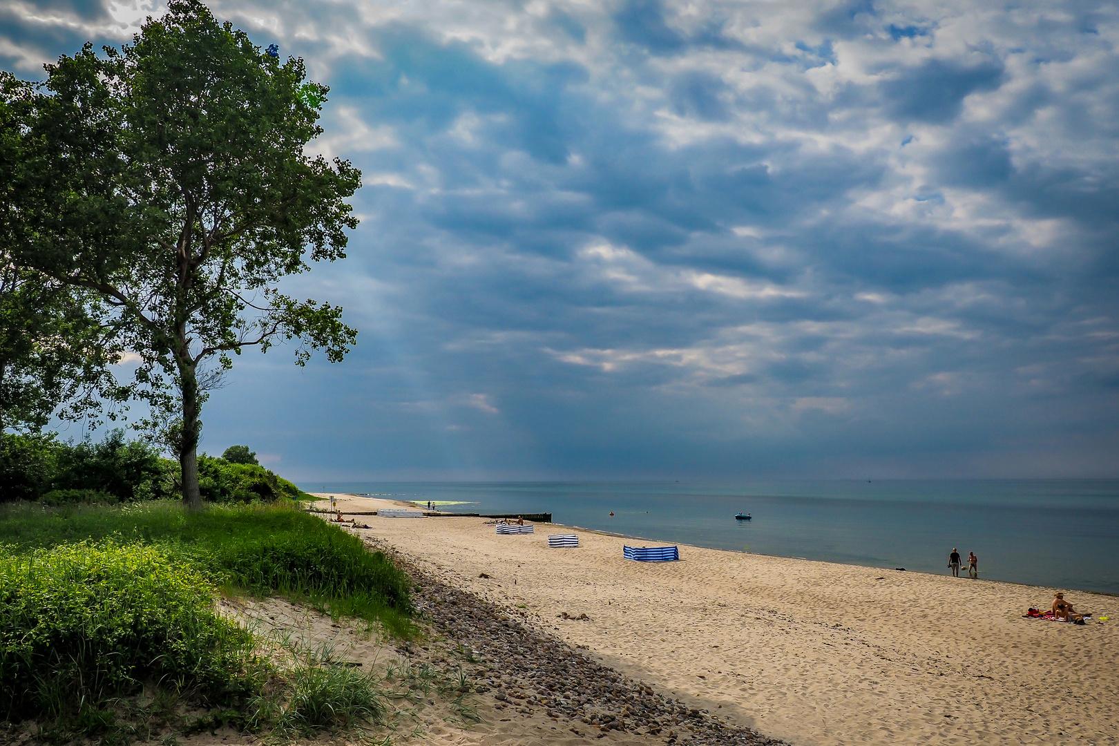 Noch ruhige Strände an Nord- und Ostsee