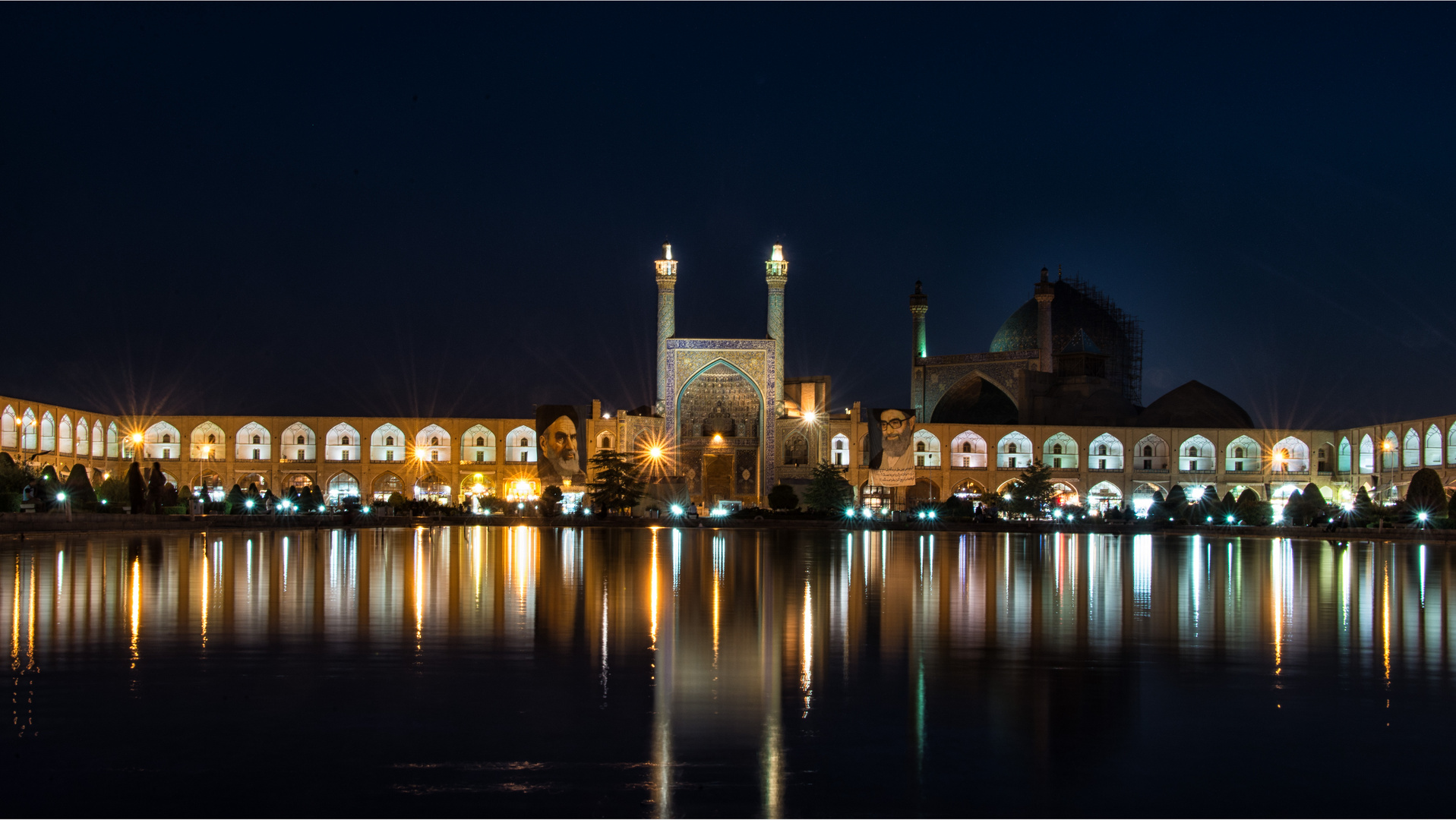 Noche en Isfahan