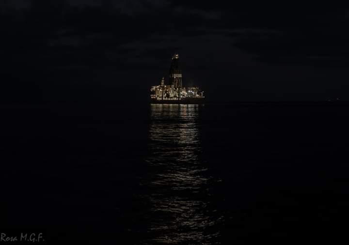 Noche en la mar