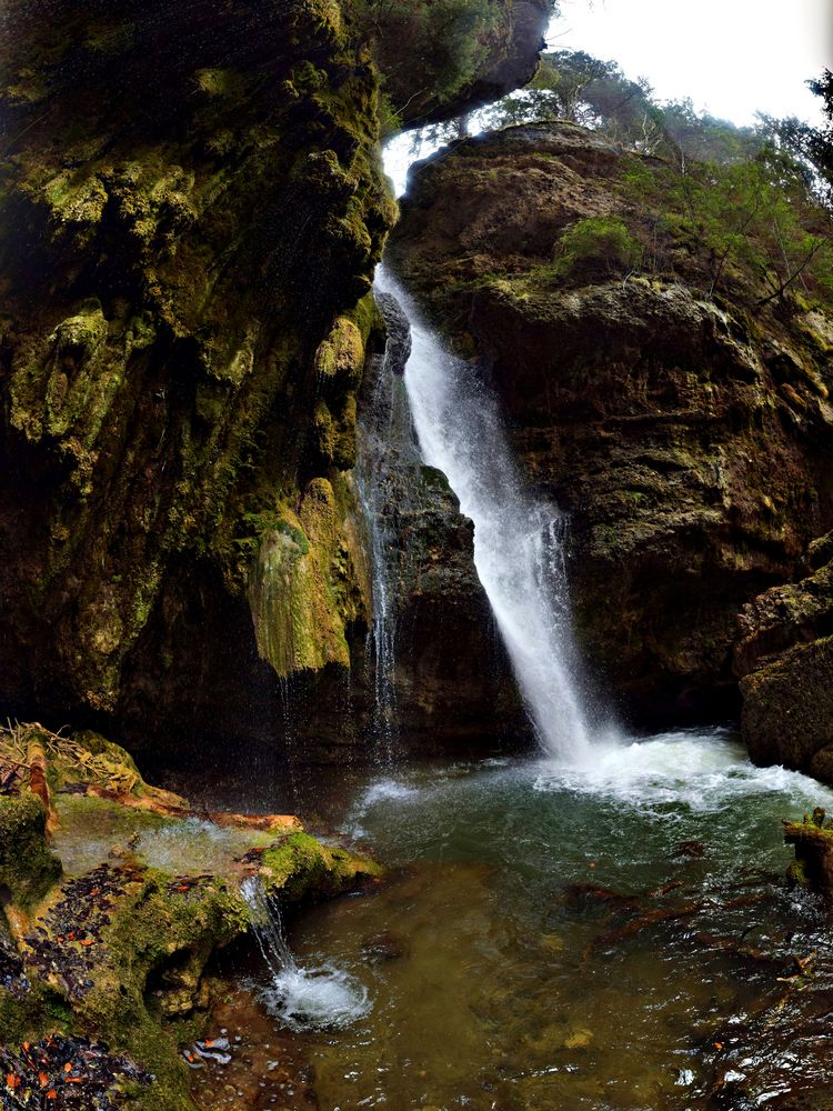 Nochmal der Wasserfall
