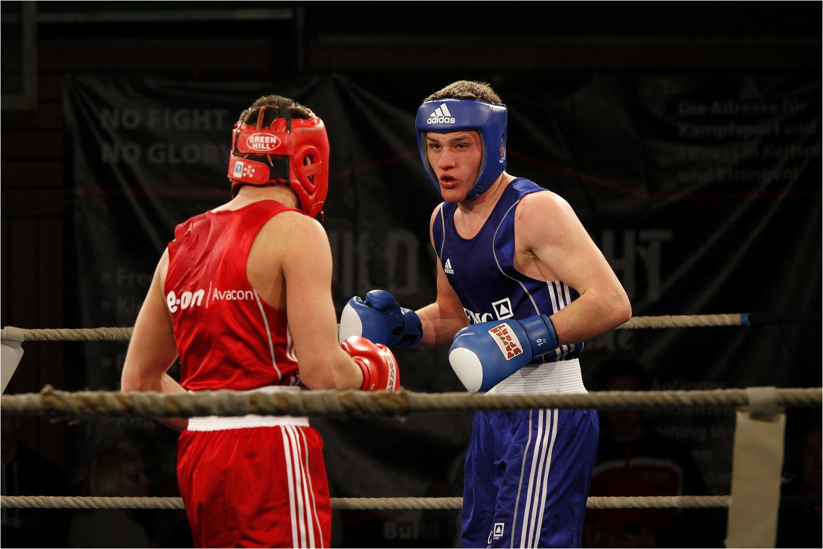 Nochmal ein Bild vom Boxkampf