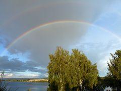 Nochmal ein Regenbogen