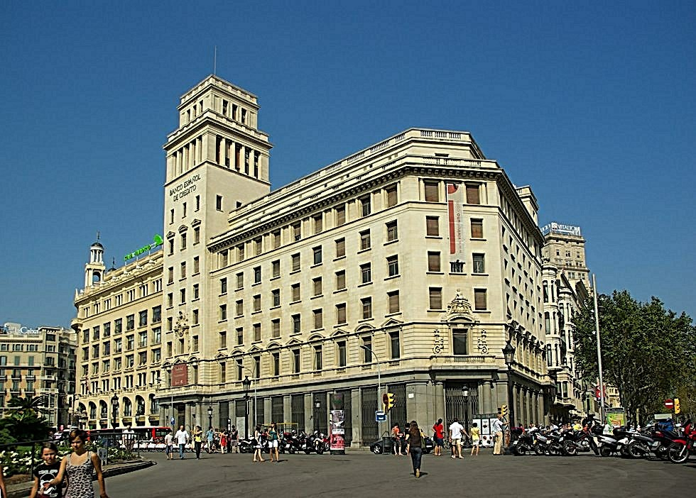 nochmal Plaza catalunya