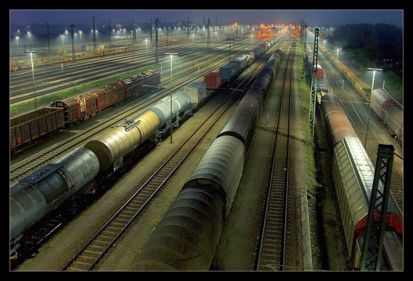 nochmal Rangierbahnhof Mannheim