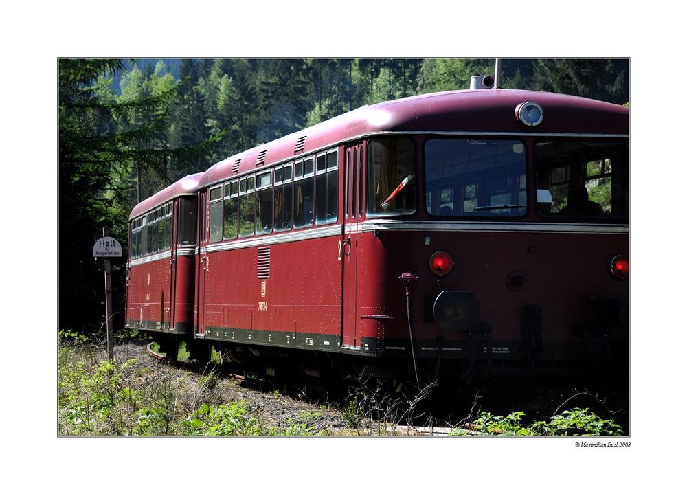 Nochmals Nostalgie a la Schienenbus