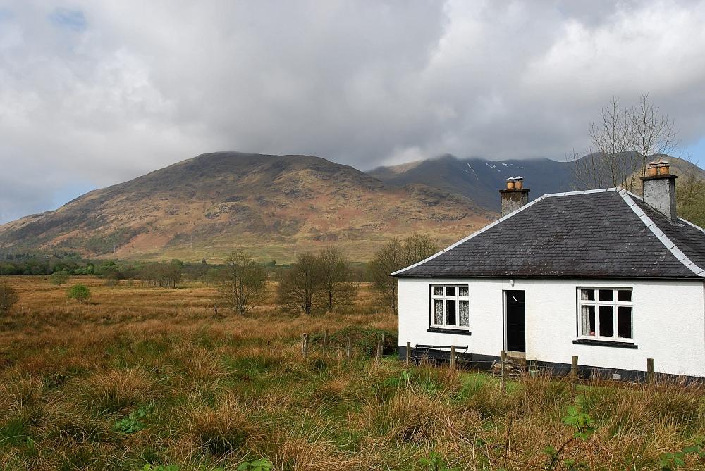 noch´n einsames Haus in den Highlands