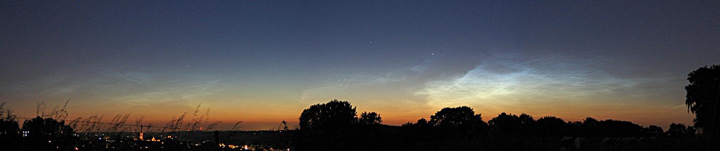 noctilucent sky