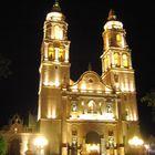 Nocturna Catedral Campeche