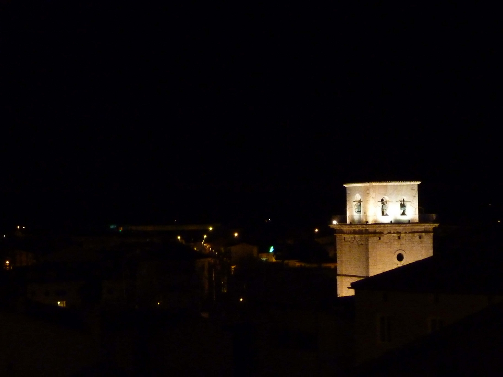 Nocturna en Peñafiel