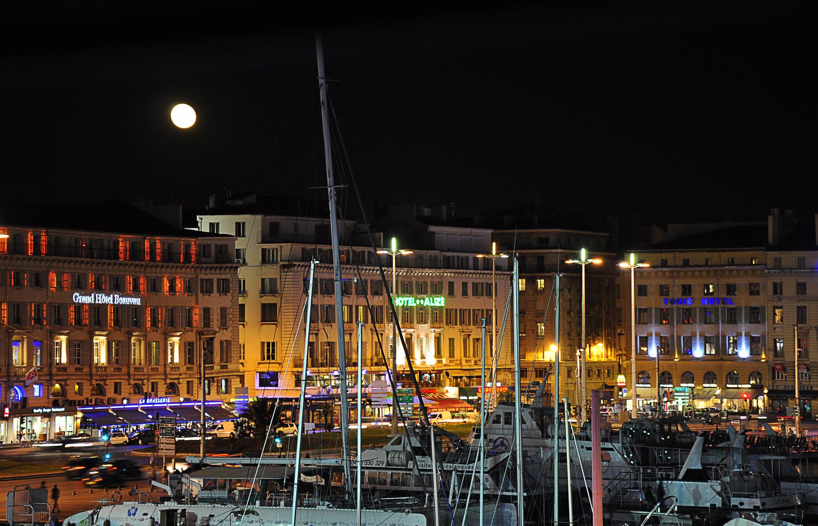 Nocturne au vieux port