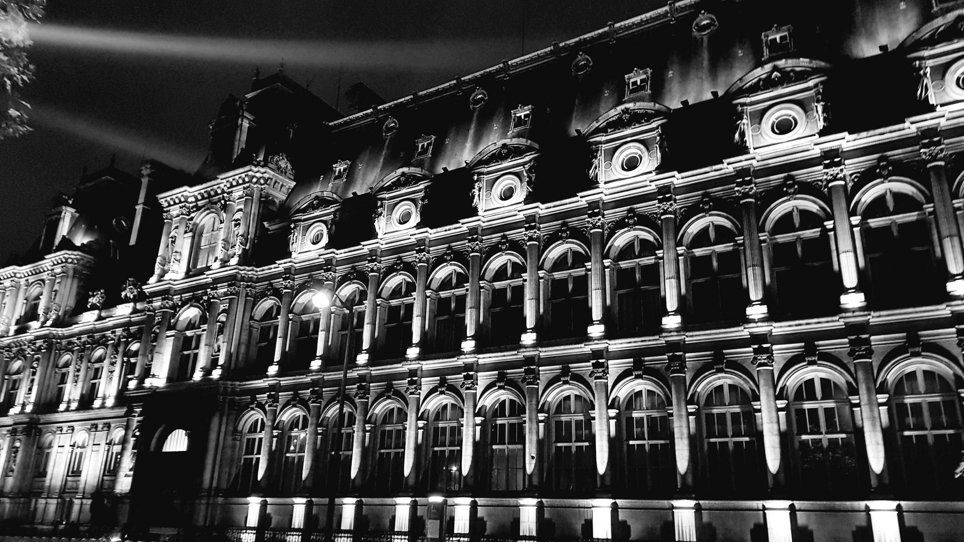 Nocturne noir et blanc