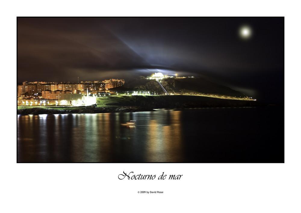 Nocturno de mar