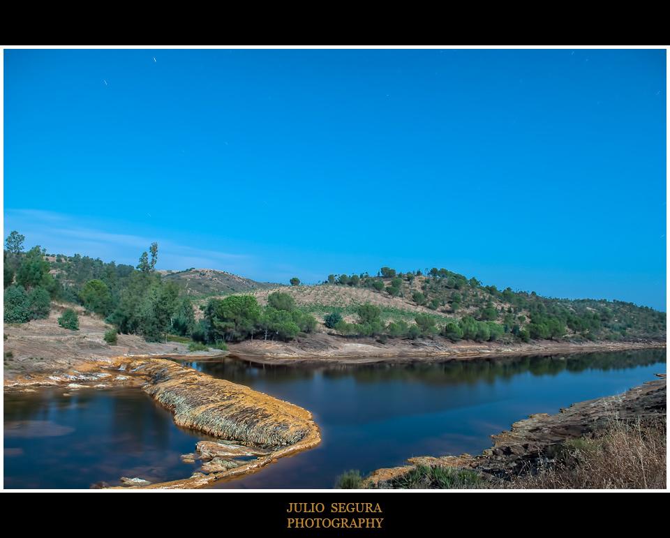Nocturno: Río Tinto en Gadea