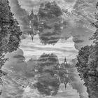 Nöbdenitzer Teich (Doppelbelichtung)