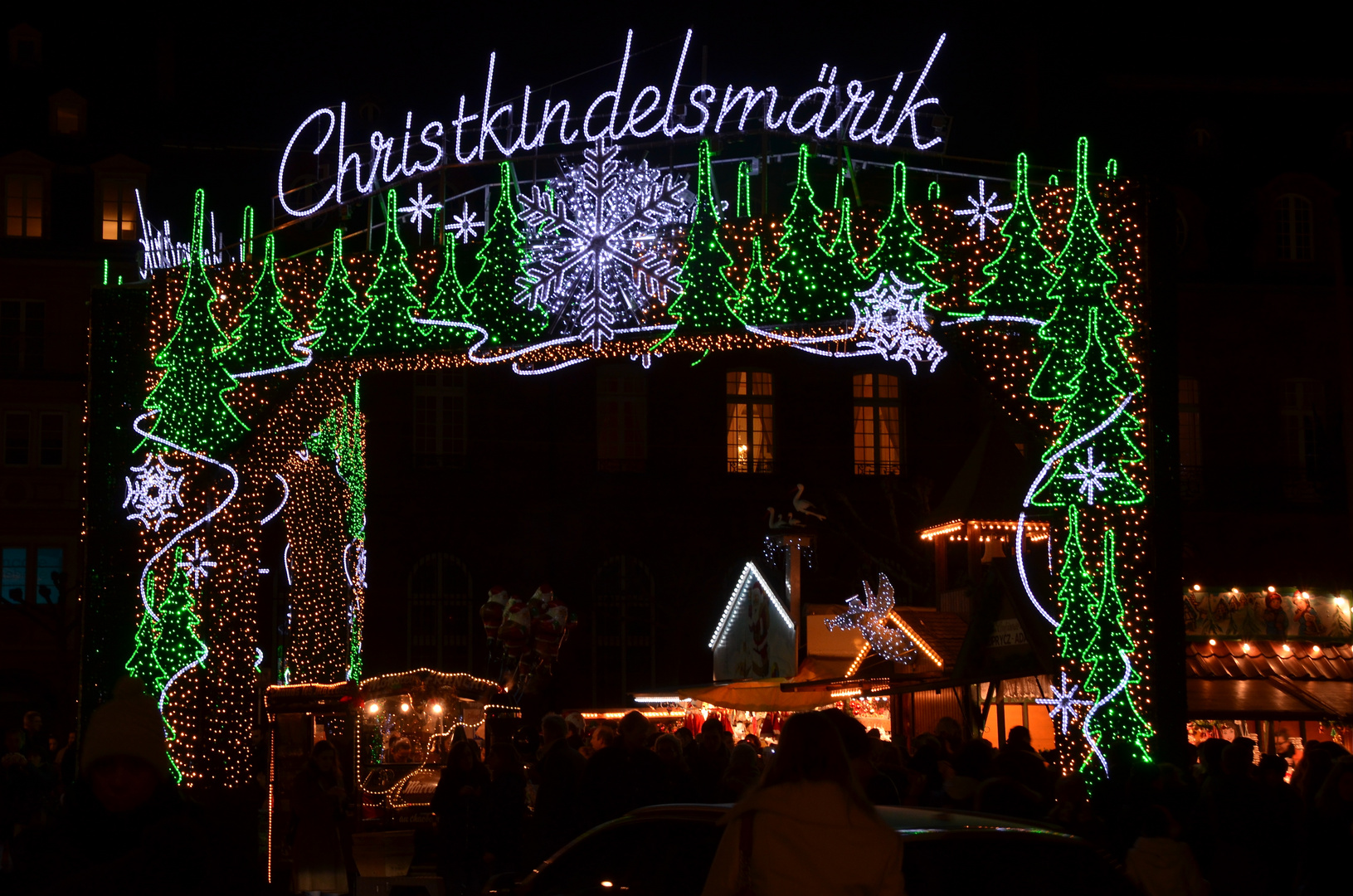 Noël à Strasbourg.