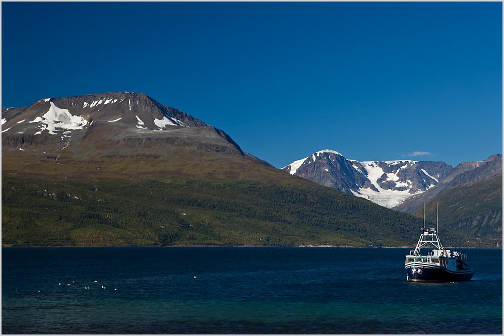 Nördlich von Tromsoe