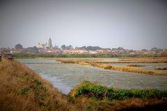 Noirmoutier vu des marais