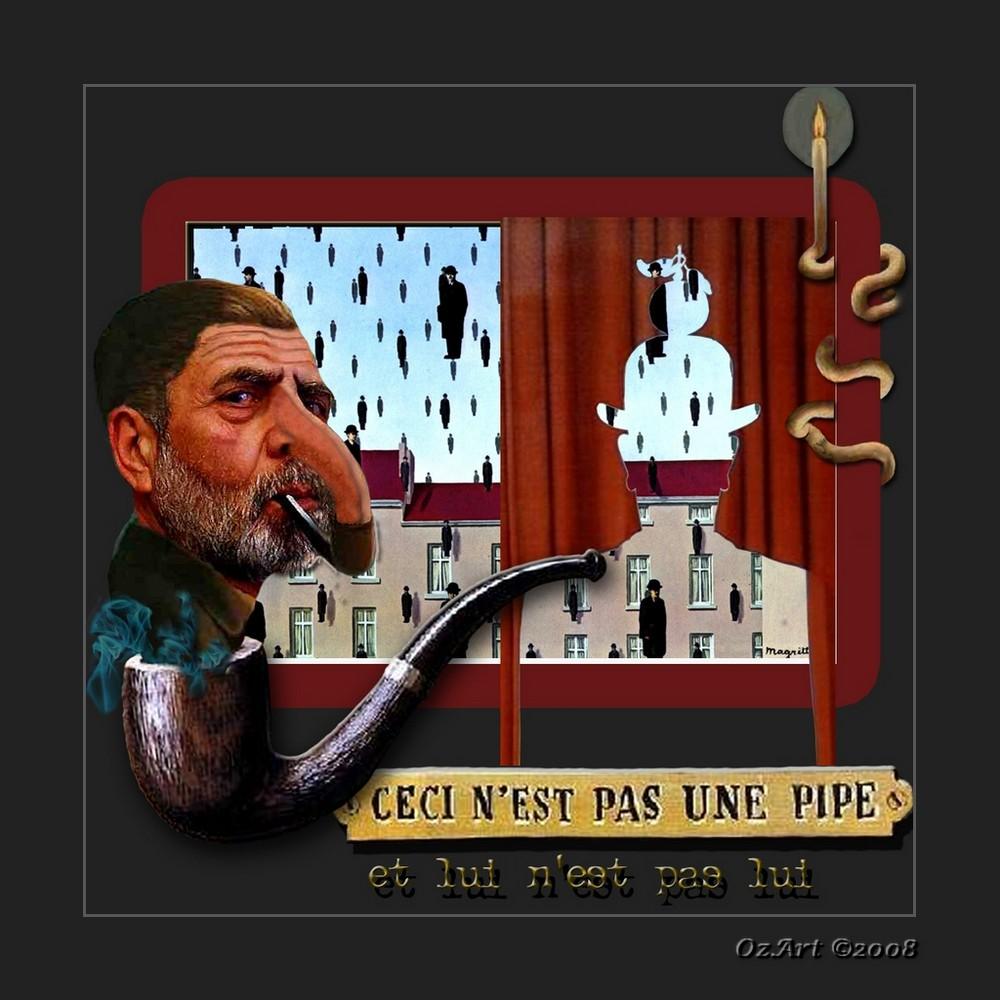 """"""" Non è una pipa - Ricordando Magritte 2 """""""