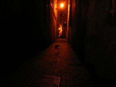 non siamo soli alla notte...