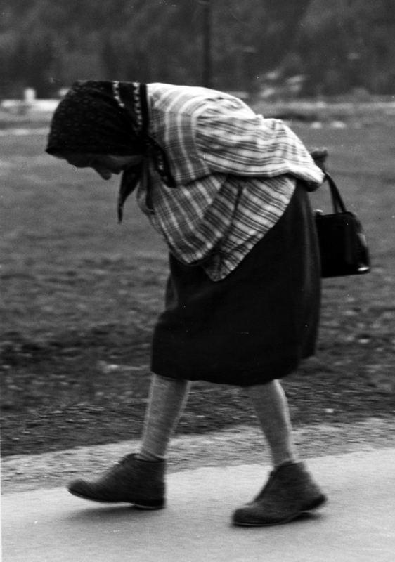 Nonna a passeggio
