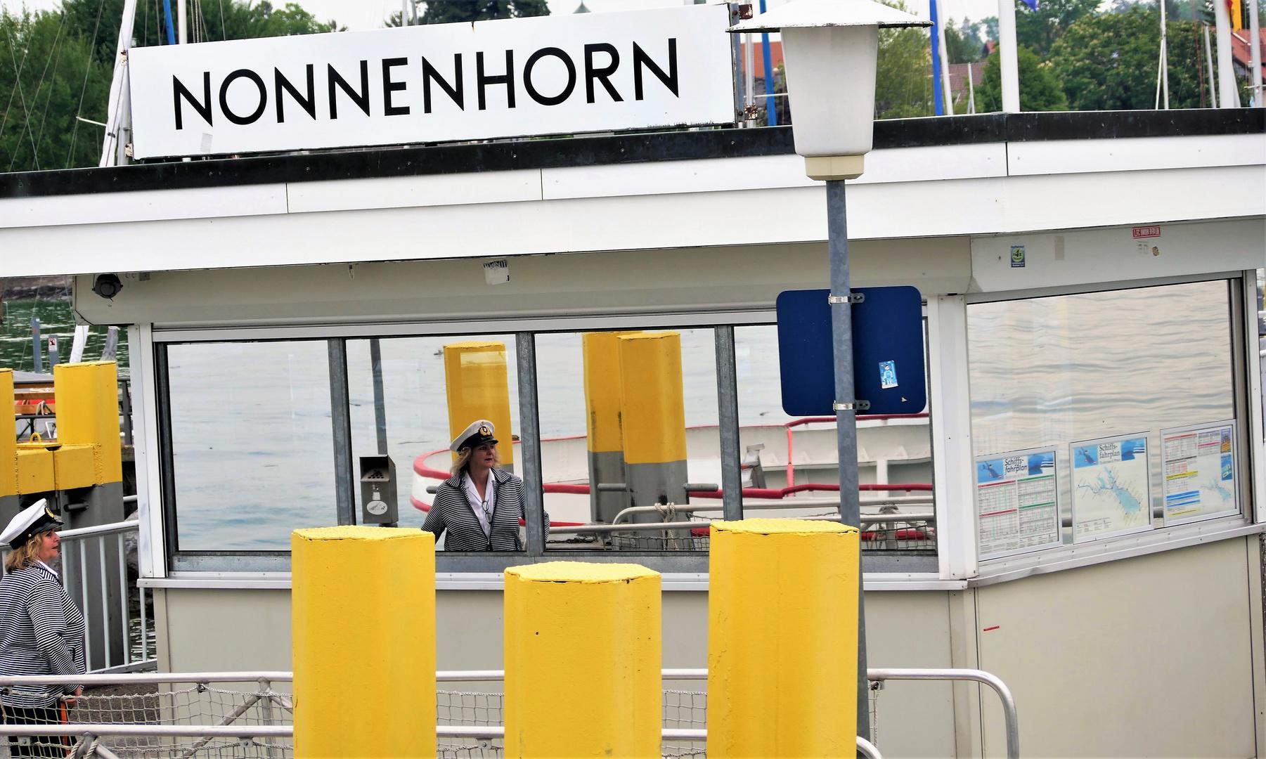 Nonnenhorn - ein perfektes Spiegelbild am Anleger oder gar ein Rückspiegel??