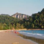 Nopparat Thara - ein Strand in der Nähe von Krabbi - im Süden von Thailand