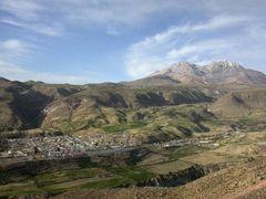 Nord-Chile: Putre liegt auf ca. 3.600 m