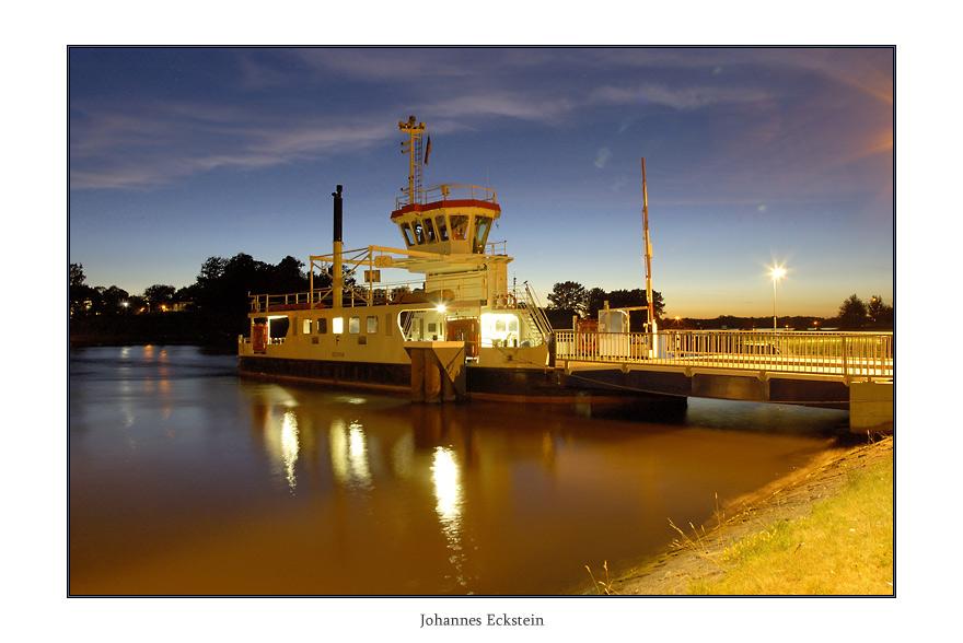 Nord-Ostsee-Kanal - Fähre Küstrin