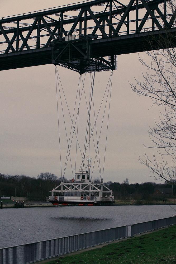 Nord-Ostsee-Kanal, Schwebefähre, Hochbrücke Rendsburg