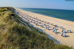 Nord Sylt Strand Nähe Wonnemeyer/Ellenbogen
