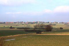 Norddeutsches Flachland - Blick von Sachsenhagen Richtung Bergkirchen